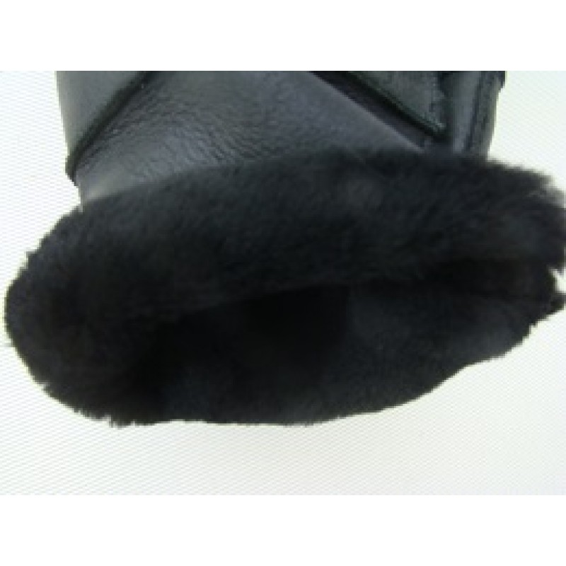 sheepskin retro glove