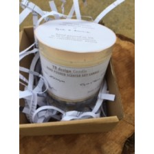 custom personalised candle 2 pc set