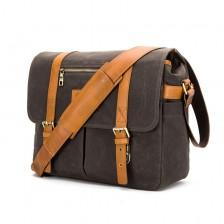 Dexter black label messenger / camera bag